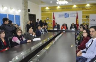 TİKA'dan Kırgızistan'a destek