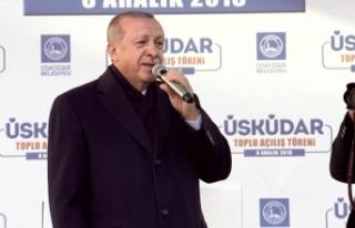 Erdoğan sert çıktı: O kadınla senin yan yana...