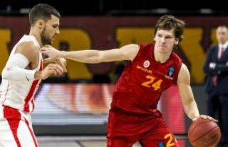 Galatasaray Kızılyıldız MTS'ye yenildi