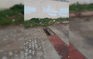 Malkara'da rögar kapağı hırsızlığı