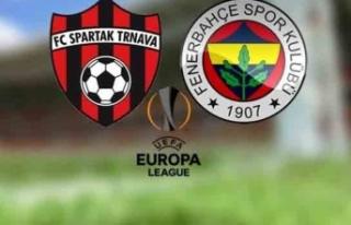 Spartak Trnava Fenerbahçe canlı izle - Spartak Trnava...