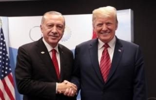 Trump'tan Erdoğan tweeti