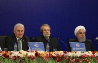 Yıldırım: İran, Rusya, Türkiye bölgesel iş...