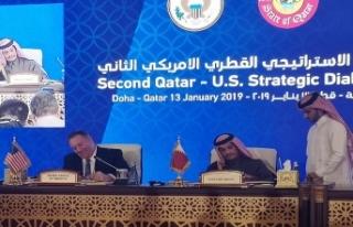 ABD'den Katar açıklaması: Askeri varlığımızı...
