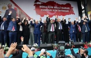 Adana'nın 'Cumhur İttifakı' adayları...