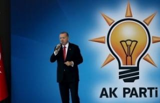 AK Parti'nin ilçe belediye başkan adayları...