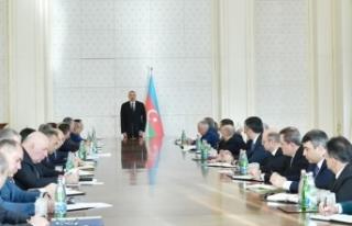 Aliyev: 2018 Azerbaycan için başarılı bir yıl...