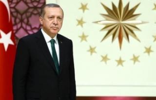 Cumhurbaşkanı Erdoğan'dan AYM Başkanı Arslan'a...