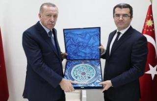 Cumhurbaşkanı Erdoğan Erzurum Valisi ile Belediye...