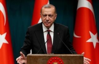 Cumhurbaşkanı Erdoğan'dan poşet, bez torba...