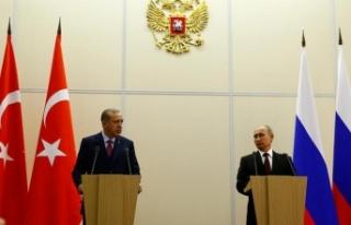 Cumhurbaşkanı Erdoğan, Rusya Federasyonu'nu...