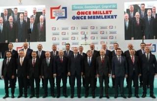 Cumhurbaşkanı Erdoğan AK Parti'nin Trabzon...