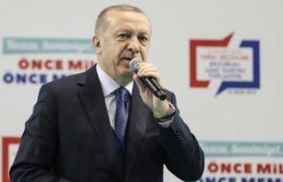 Cumhurbaşkanı Erdoğan Gaziantep adaylarını açıkladı