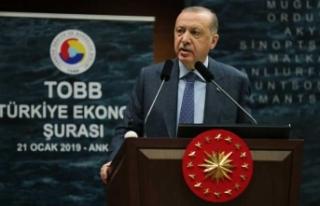 Cumhurbaşkanı Erdoğan: Spekülatörlerin karşısındayız