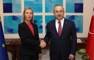 Dışişleri Bakanı Çavuşoğlu, AB Yüksek Temsilcisi...