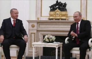 Erdoğan ve Putin'den ortak tepki: O mektup bizi...
