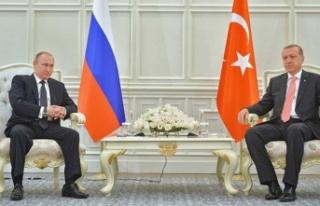 Erdoğan-Putin görüşmesinin gündemi belli oldu