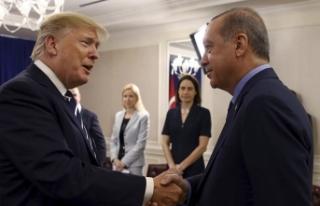 Erdoğan Trump görüşmesi için Beyaz Saray'dan...