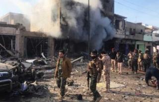 Irak'ın Suriye sınırında bombalı saldırı