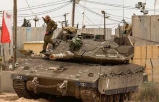 İsrail Gazze'ye tank atışlarıyla saldırdı