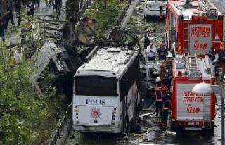 İstanbul'da terör operasyonu!Bombalı saldırı...