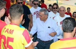 İzmir Büyükşehir'den Göztepe'ye büyük destek