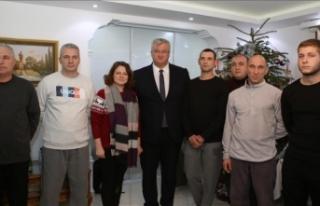 Kurtarılan Ukraynalı mürettebattan Türkiye'ye...