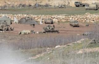 Lübnan'dan İsrail işgalindeki toprakları...