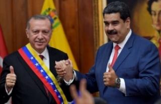Maduro canlı yayında açıkladı: Türkiye halkı...