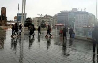 Meteoroloji uyardı! Sağanak yağış bekleniyor