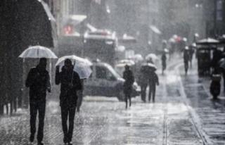 Meteoroloji uyardı! Şemsiyesiz çıkmayın...