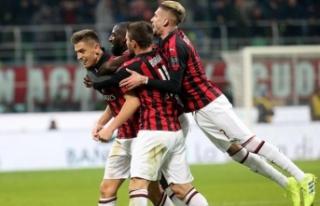 Milan'ı yarı finale Piatek taşıdı