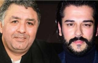 Mustafa Uslu'dan ödül töreninde Burak Özçivit'e...