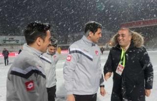 Saha incelendi... Boluspor Galatasaray maçı ertelenecek...