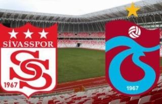 Sivasspor Trabzonspor canlı...