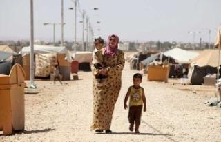 Suriyeli kadın kendini yaktı!