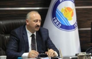 Trabzon Araklı Belediye Başkan adayı Recep Çebi...
