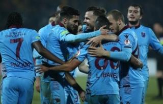 Trabzonspor adını çeyrek finale yazdırdı