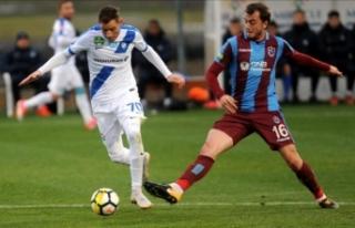 Trabzonspor, MTK Budapeşte'ye yenildi