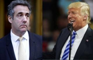 Trump'ın eski avukatı Cohen Kongre'de