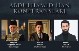 Antalya'da Sultan II. Abdulhamid Hân anılıyor