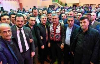 Başkan Türkmen Yavuztürk'teydi