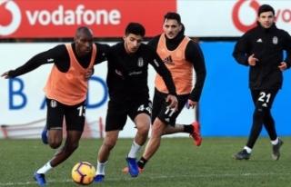 Beşiktaş, Fenerbahçe maçı hazırlıklarını...