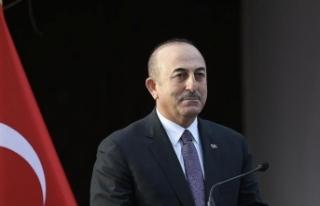 Çavuşoğlu'nda Yorgos Katrugalos'a tebrik...