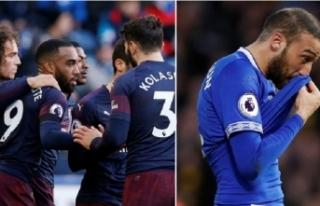 Cenk Tosun'lu Everton'dan kötü sonuç