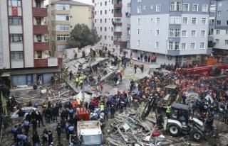 Çevre binalar boşaltıldı... Vatandaşlar misafirhanelere...