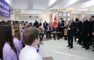 Cumhurbaşkanı Erdoğan 'Hedef 2023' marşını...