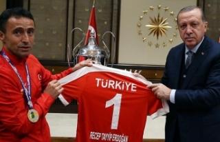 Cumhurbaşkanı Erdoğan'dan Çakmak'a taziye...
