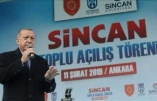 Cumhurbaşkanı Erdoğan: Türkiye'nin en büyüğü...