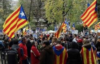 Dünyanın takip ettiği ayrılıkçı Katalanların...